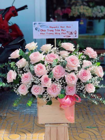 Hộp hoa hồng Ohara - Nét yêu kiều