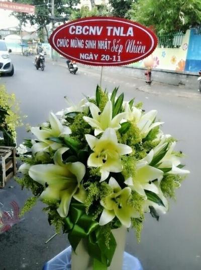 Hộp hoa ly