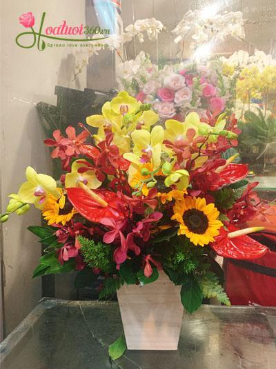 Hộp hoa ngày 20-10 - Trọn tấm lòng