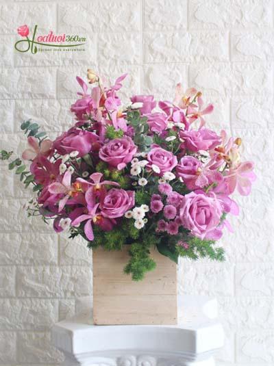 Hộp hoa - Tình thơ
