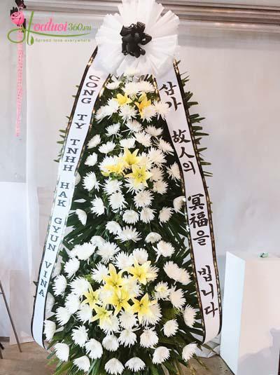 Kệ hoa chia buồn Hàn Quốc- Tiễn biệt