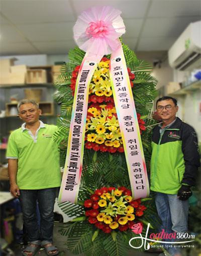 Kệ hoa khai trương Hàn Quốc đẹp