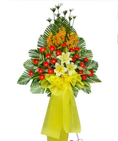Kệ hoa tươi chúc mừng