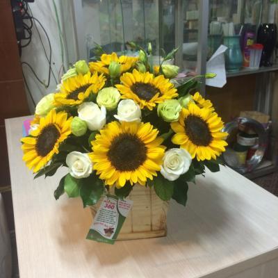 Hộp hoa Lucky