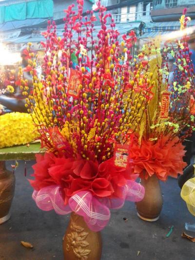 Bình hoa tầm xuân - Năm mới phát tài 1