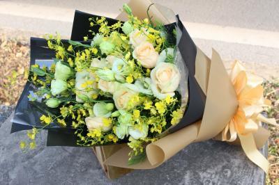 Bó hoa nét đẹp độc đáo