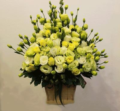 Giỏ hoa Mỗi sớm mai - mỗi điều hạnh phúc