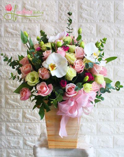 Hộp hoa chúc mừng - Sự lựa chọn thông minh