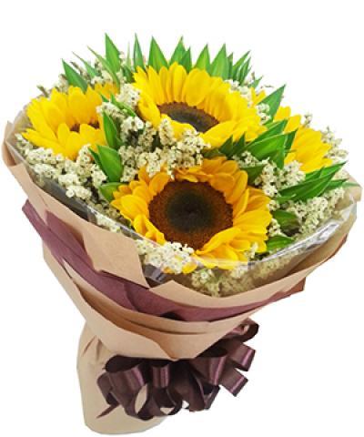 Bó hoa Bình minh rạng rỡ