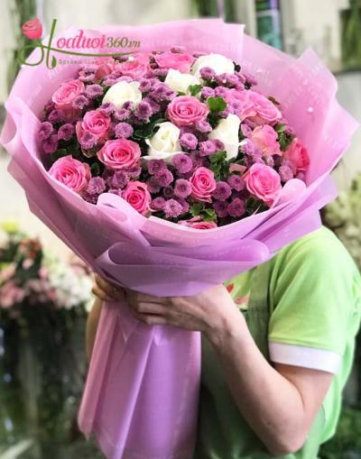 Top 50 mẫu hoa bó sang chảnh kiểu hàn quốc mới nhất 2019