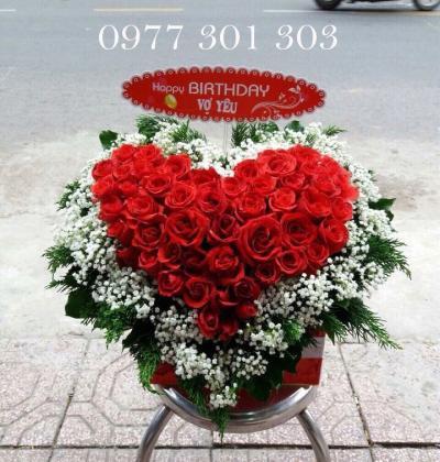 Hoa hồng song hỷ tặng vơ yêu vô điều kiện