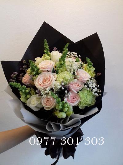 Bó hoa cẩm chướng đẹp, lãng mạn dành tặng người yêu