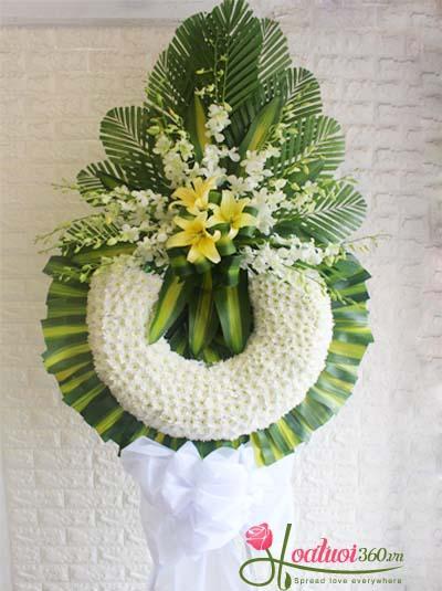 Vòng hoa tang - Ngày buồn