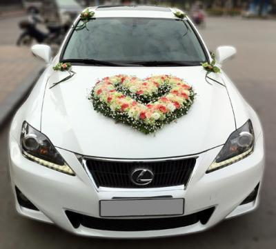 Xe hoa cưới 12_Trái tim ngọt ngào