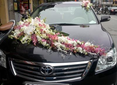 Xe hoa cưới 14_Hoa Tươi 360