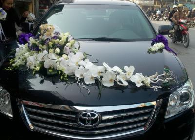 Xe hoa cưới 17_Hoa Tươi 360