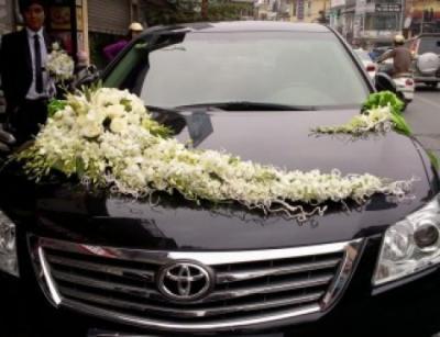 Xe hoa cưới 7_Hoa Tươi 360