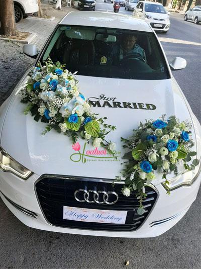 Xe hoa cưới - Blue love