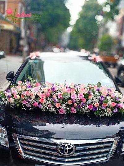 Xe hoa cưới - Ngày hạnh phúc