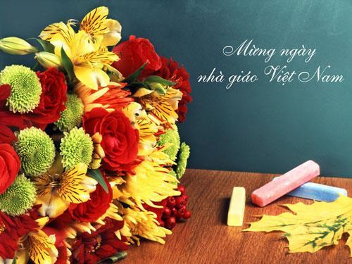 Những mẫu hoa tặng thầy cô 20-11 thật ý nghĩa