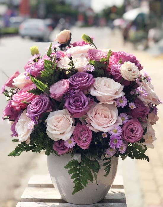 Bình hoa tươi định kì