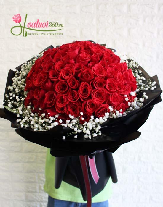 Giá hoa bó tròn