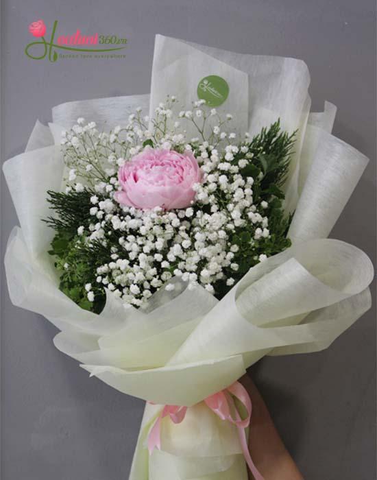 Bó hoa mẫu đơn món quà ý nghĩa nhất tặng người thân yêu