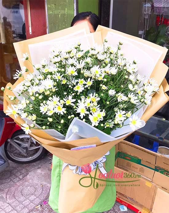 Bó hoa cúc họa mi - hẹn ước tháng 11