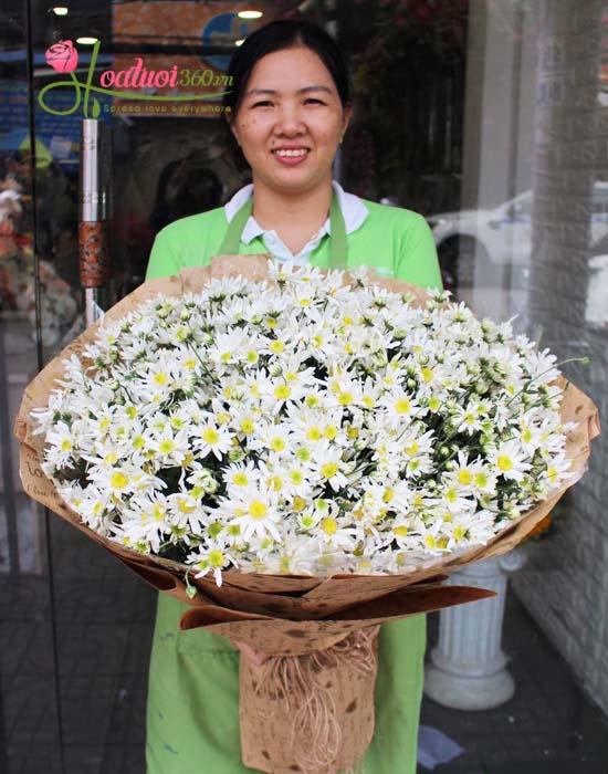 Bó hoa cúc họa mi - Hà nội trong tim em