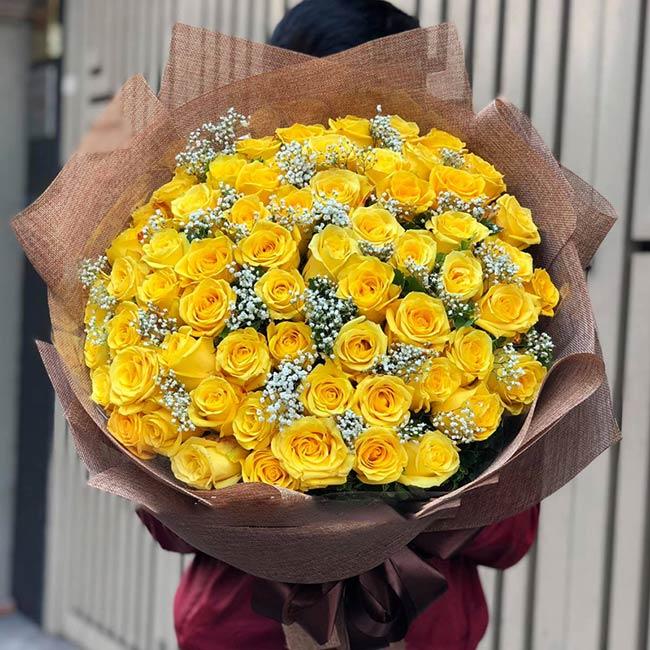 Hoa hồng vàng giá rẻ ở đâu