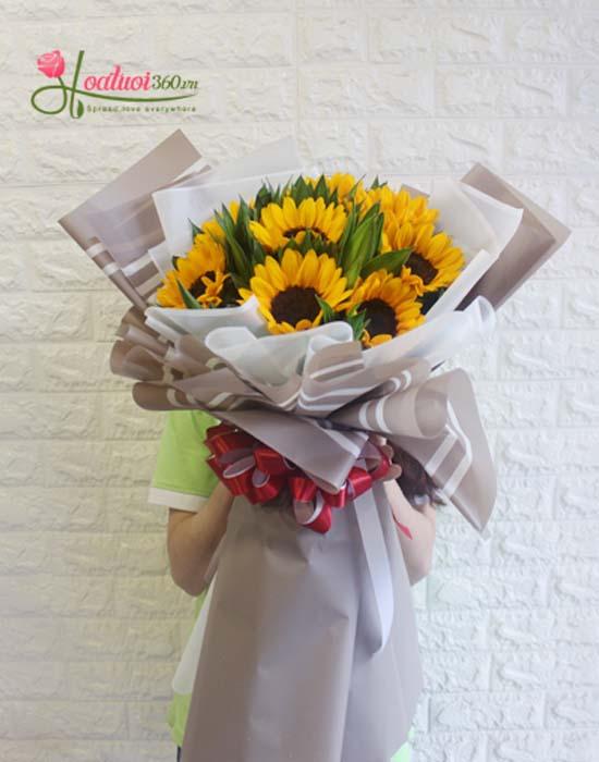Bó hoa mừng sức khỏe - thông điệp mạnh mẽ