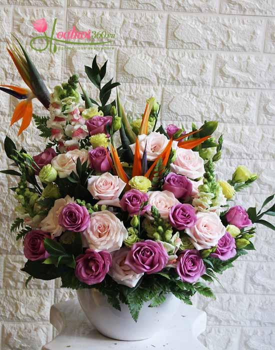 Mua hoa tươi định kì đẹp tại hoa tươi 360