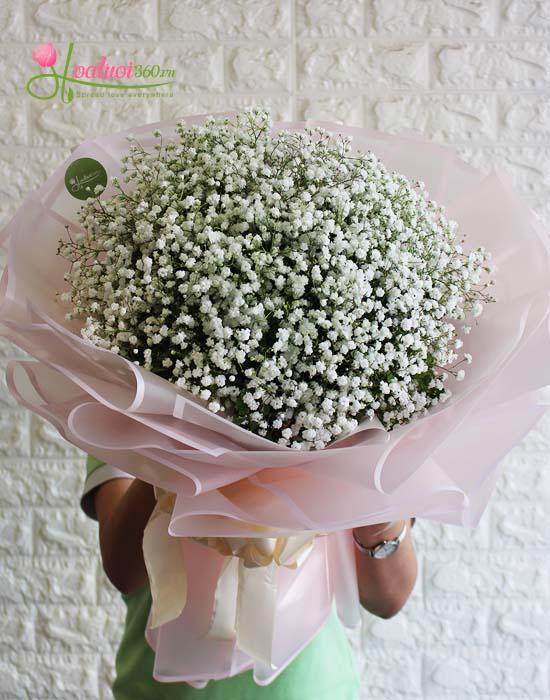 Đặt hoa baby ở đâu giá rẻ tại Sài Gòn