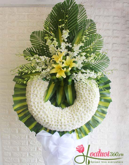 Hoa cúc trắng thường được dùng trong đám tang
