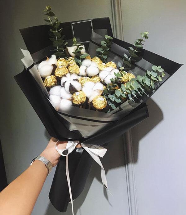 Bó hoa socola sang trọng và cuốn hút