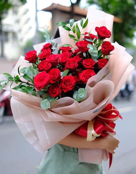 Chọn hoa sinh nhật đẹp đễ không bị khó xử nhé