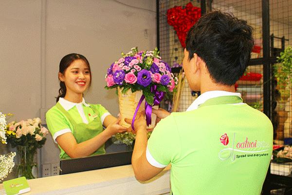 Dịch vụ đặt hoa online uy tín tại hoatuoi360