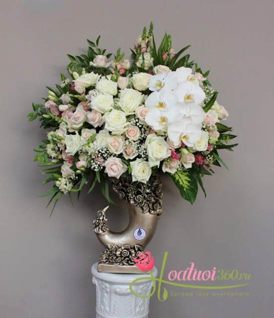 Bình hoa Vip chúc mừng - Phát tài