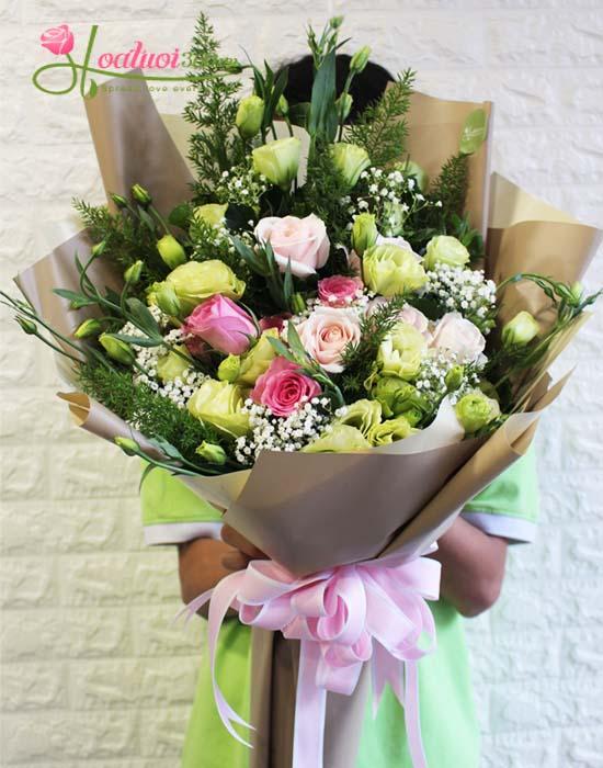 Hoa tặng sinh nhật bạn trai đẹp
