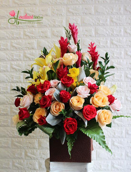 Đặt lãng hoa sinh nhật online đẹp nhất