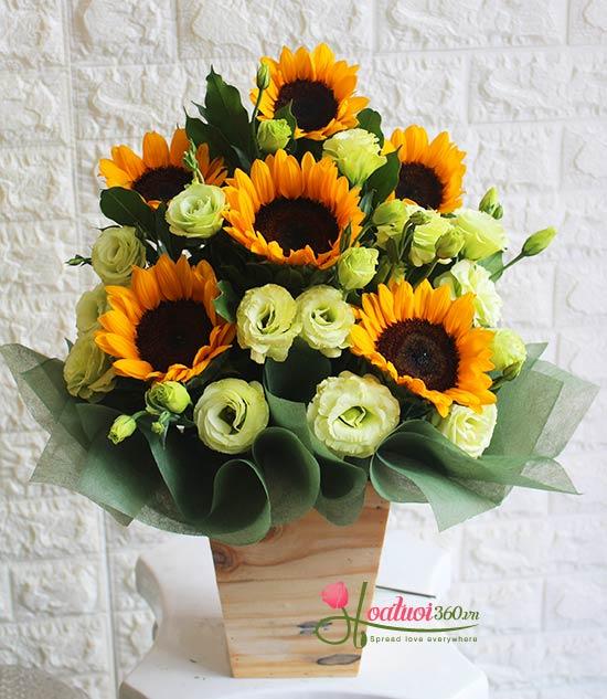 ý nghĩa hoa tặng mẹ