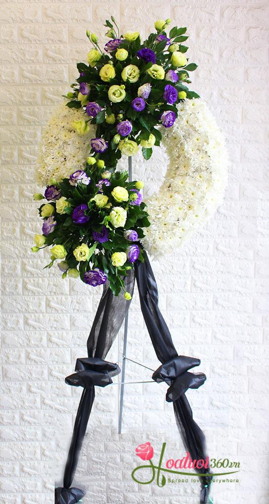 Vòng hoa chia buồn  thay lời muốn nói