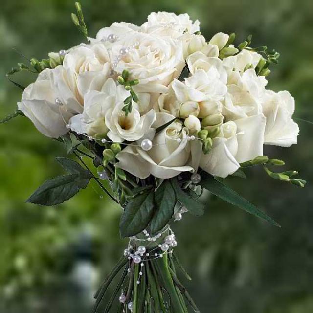 Hoa hồng trắng làm hoa cưới ý nghĩa