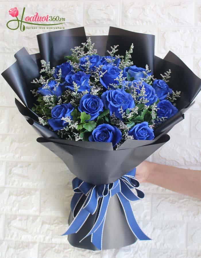 Hoa hồng xanh sự hối lỗi chân thành