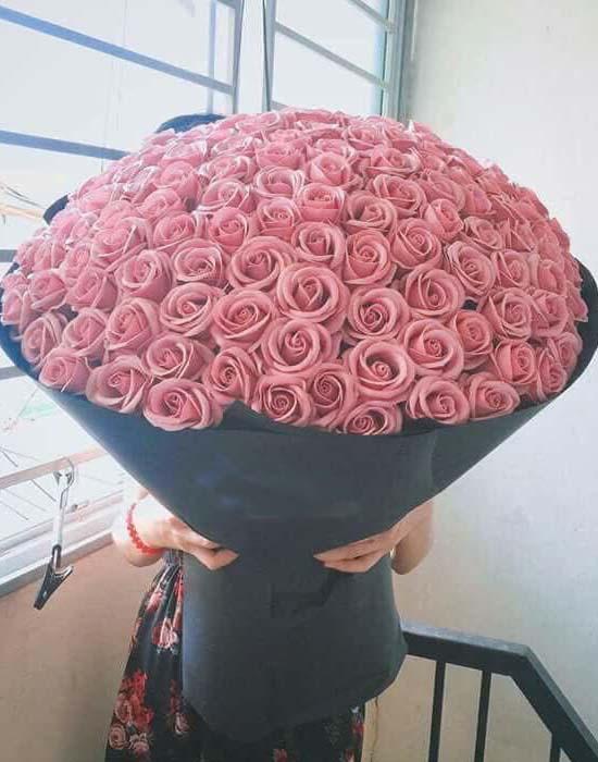 Các mẫu hoa hồng sáp đẹp
