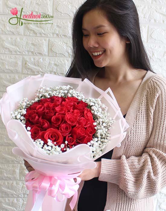Bó hoa Keep Loving chúc mừng ngày 20/10