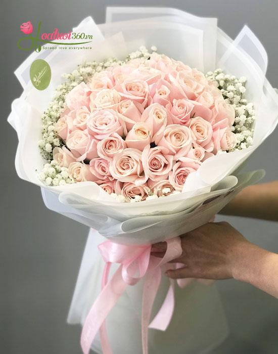 Bó hoa tươi chúc mừng sức khỏe - Sự kết hợp hài hòa