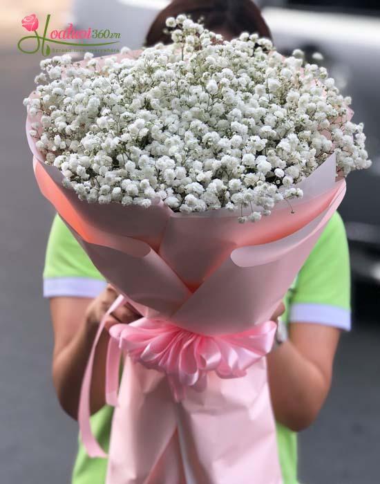 Bó hoa baby ý nghĩa trong tình yêu trong sáng