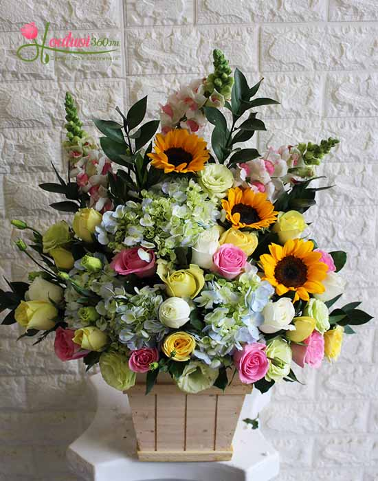 Hộp hoa - Người đưa đò