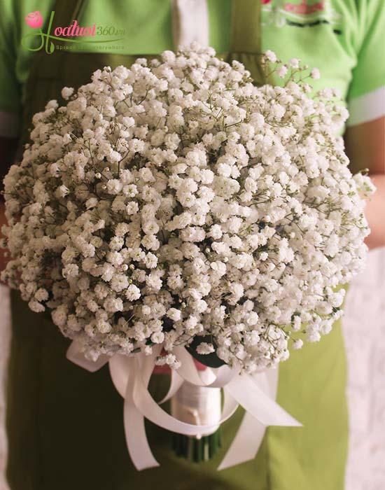 Hoa cầm tay cô dâu đẹp nhất